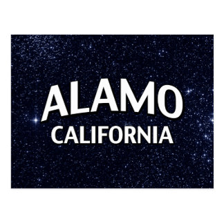 Alamo California Postcard