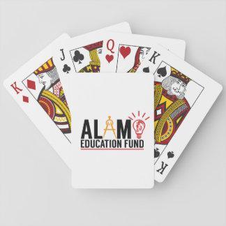 Alamo Education Fund Playing Cards