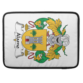 Alamo Family Crest Sleeves For MacBook Pro
