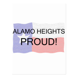 Alamo Heights Proud Postcard