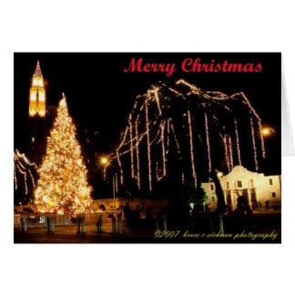 Alamo Holidays Greeting Card