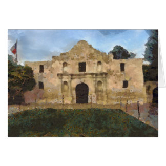 Alamo Lawn Greeting Card