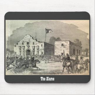 Alamo Print Mousepad