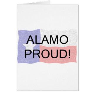 Alamo Proud Greeting Card