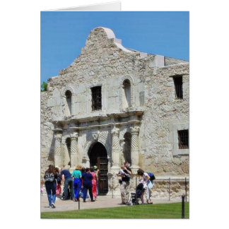 Alamo San Antonio Forts Texas Greeting Card