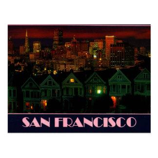 Alamo Square San Francisco Postcard