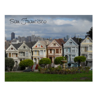 Alamo Square, San Francisco Postcard