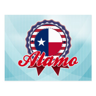 Alamo, TX Postcard