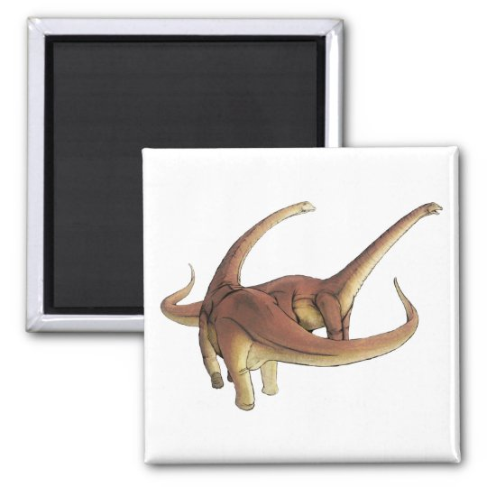 Alamosaurus sanjuanensis square magnet