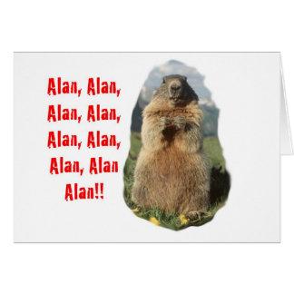 Alan Alan Alan Card
