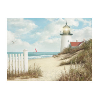 "Alan Giana ""By the Peaceful Shore"" Canvas Print"