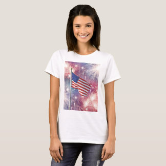 "Alan Giana ""Flag and Fireworks"" T-Shirts and More"