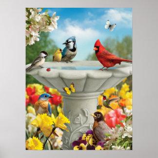 """Alan Giana """"Garden Friends"""" Poster"""