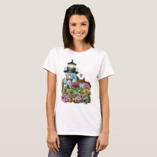 "Alan Giana ""Lighthouse Garden"" T-Shirts and More"