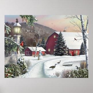 "Alan Giana ""Still Light of Dawn"" Canvas Print"