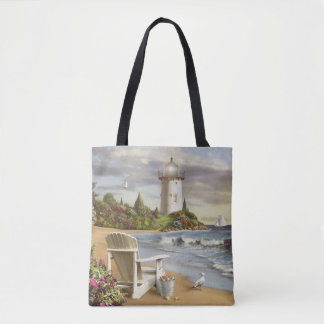 "Alan Giana ""The Perfect Place"" All Over Tote Bag"