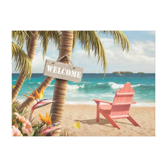 "Alan Giana ""Welcome to Paradise"" Canvas Print"