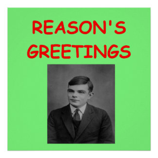 alan turing posters
