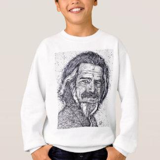 ALAN WATTS - ink portrait Sweatshirt