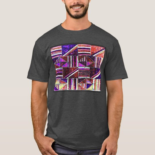 alanart abstract design t shirt