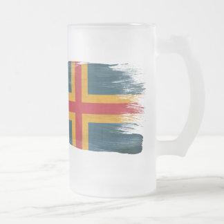 Aland Flag Mug