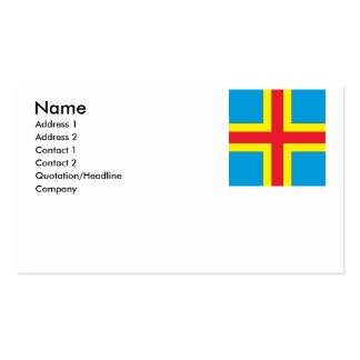 Aland Islands Business Card Template