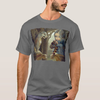Alannah and the Gargoyle SHIRT gothic fairy art