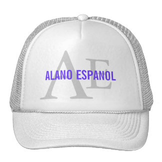 Alano Espanol Breed Monogram Cap