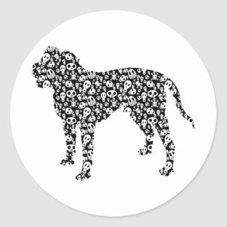 Alapaha Blue Blood Bulldog Classic Round Sticker