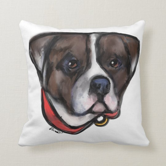 Alapaha Blue Blood Bulldog Cushion