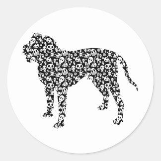 Alapaha Blue Blood Bulldog Round Sticker