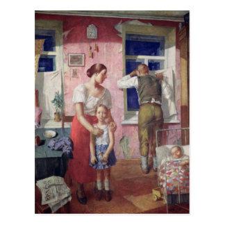 Alarm, 1934 postcard