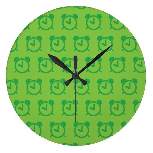 Alarm Clock greens