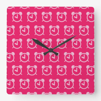 Alarm Clock hot pinks
