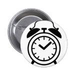 alarm clock icon button