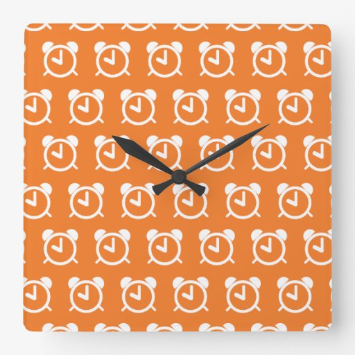 Alarm Clock orange