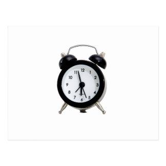 Alarm Clock. Postcard