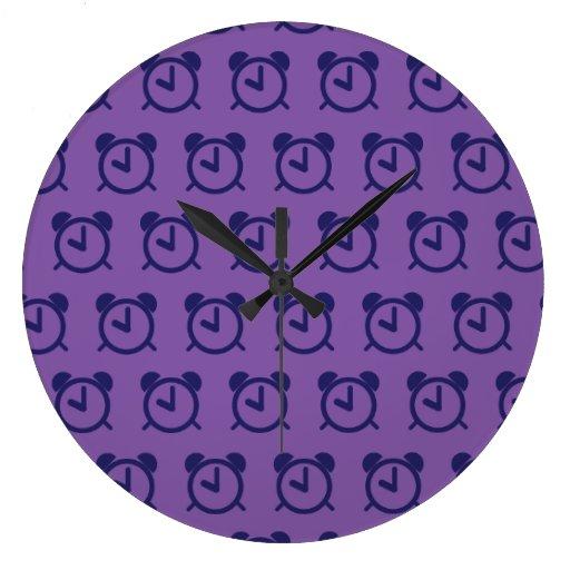 Alarm Clock purples 2