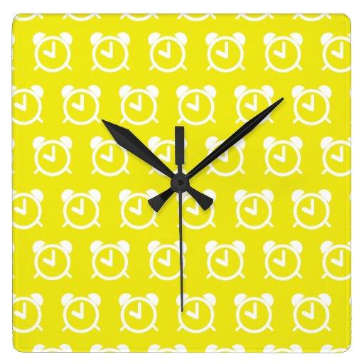 Alarm Clock yellow