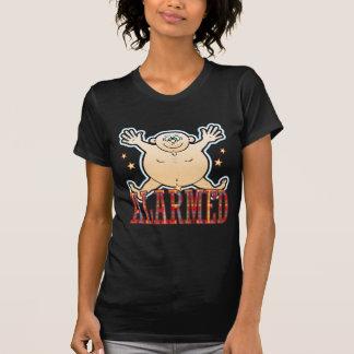 Alarmed Fat Man T-Shirt