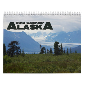 Alaska 2012 wall calendars