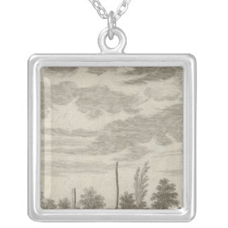 Alaska 3 silver plated necklace