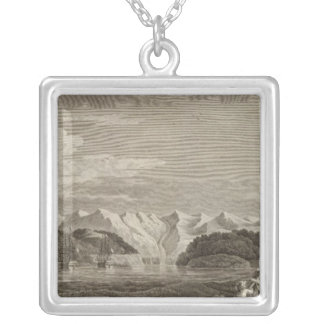 Alaska 5 silver plated necklace