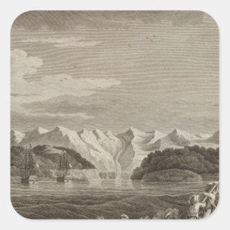 Alaska 5 square sticker
