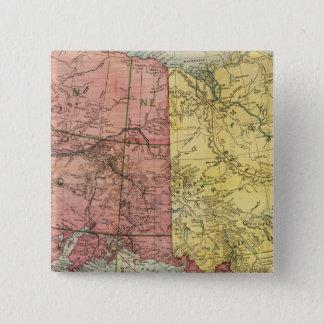 Alaska 6 15 cm square badge