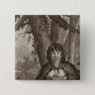 Alaska 7 15 cm square badge