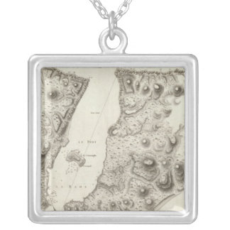 Alaska 8 silver plated necklace