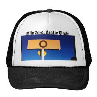 Alaska Arctic Circle Mile Zero Hats