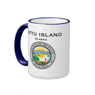 Alaska Attu Island Mug