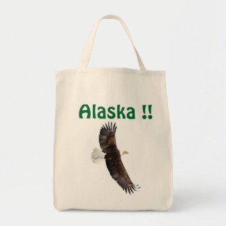Alaska bag with a eagle.